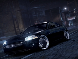 Game Wallpaper - N4S black car