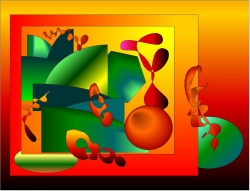 Art Wallpaper - Picasso's abstract
