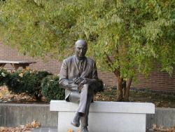 Landscape Wallpaper - Johnson statue