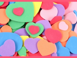 Valentine/Love Wallpaper - Candy hearts