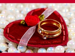 Valentine/Love Wallpaper - Valentine rings