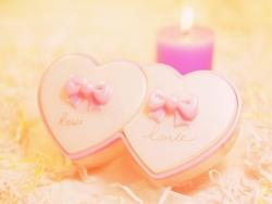 Valentine/Love Wallpaper - Romantic hearts
