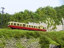Landscape Wallpaper - Train Montagne