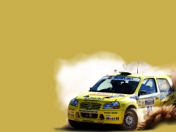 Car Wallpaper - Suzuki paris dakar