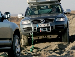 Car Wallpaper - Touareg expedition
