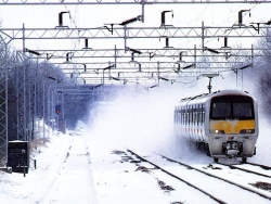 Landscape Wallpaper - Snow train