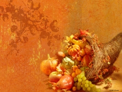 Thanksgiving Wallpaper - Classic cornucopia