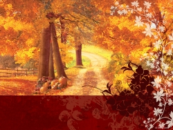 Thanksgiving Wallpaper - Autumn idyllic