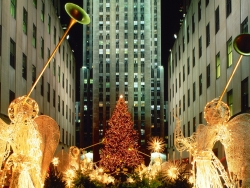 Christmas Wallpaper - Christmas at Rockefeller Center