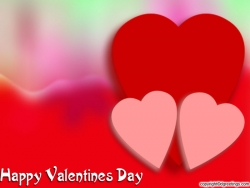 Valentine/Love Wallpaper - Couple hearts